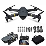 Drone Plegable Con CáMara Para Adultos, CáMara 4k Hd Drone