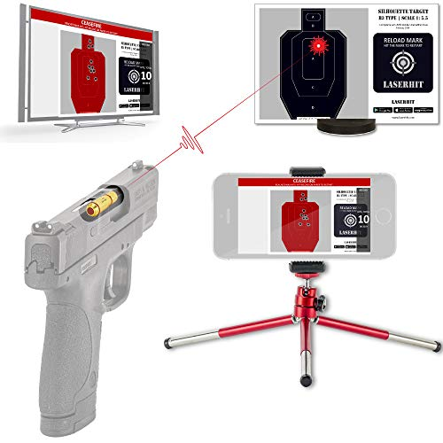 LaserHIT Dry Fire Training Kit (9mm/HD-A5 Wireless, Android)