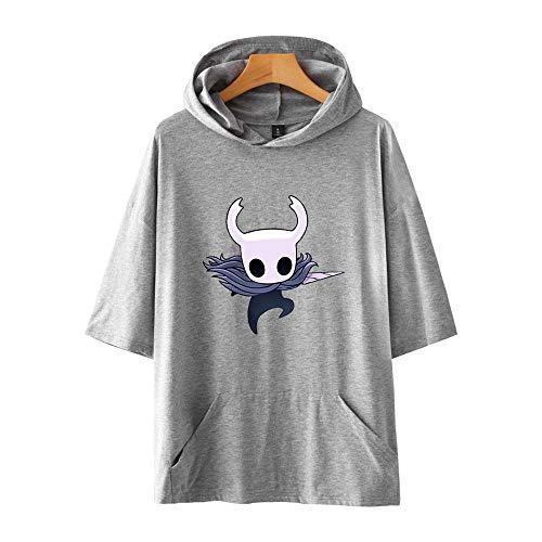 LeeQn Hip Hop Hoodie 3D Unisex Druck Männlich Weiblich Anime Kapuzenpullover Sweatshirt Hollow Knight M