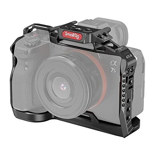 SMALLRIG Lightweight Camera Cage Kamera Käfig für Sony Alpha 7S III / A7S III / A7SIII / A7S3 - 3065