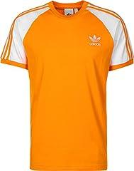 Adidas Camisetas Hombre Manga Raglán 3-Stripes