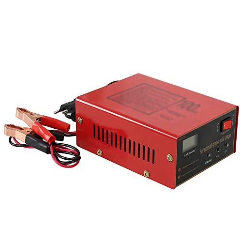 Z&LEI 12V / 24V 10A 6-105AH Cargador de batería de Coche Universal Cargador de batería de Motocicleta Cargador de batería de Plomo ácido