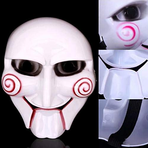 RCFRGV Halloween masker Fabulous De Saw Figure Clown Masker Enge Praktische grap Gadgets Voor Halloween Kostuum Party