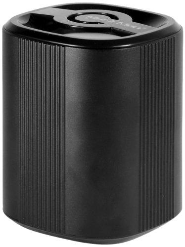 Technaxx MusicMan Grenade BT-X4 - Mini Altavoz portátil Bluetooth (batería integrada, MP3, Radio FM, Adaptador USB y Micro SD) Negro