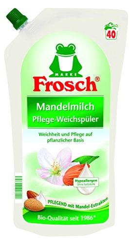 Frosch Mandelmilch Weichspüler, 8er Pack (8 x 1000 ml)