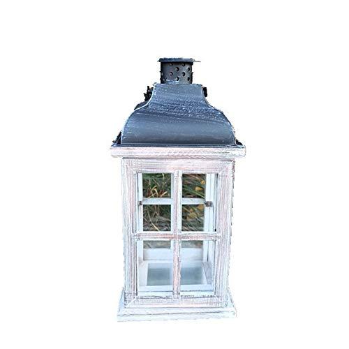 Josopa Portavelas colgante de estilo europeo, portavelas decorativo con mango de metal para interiores y exteriores, eventos, fiestas, bodas