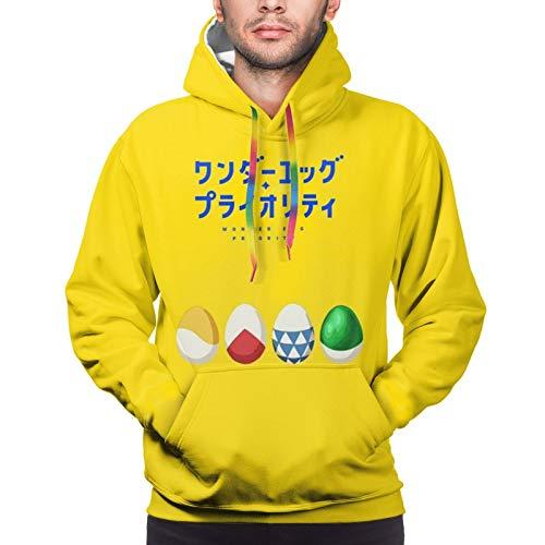 AUkaiqu12 Sudadera con Capucha Unisex Wonder Egg Priority Sudadera con Capucha de Manga Larga Impresa En 3D Sudadera Holgada con Capucha Deportiva para Hombres y Mujeres