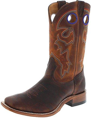 FB Fashion Boots Boulet Herren Cowboy Stiefel 6369 EEE Bison Westernreitstiefel Lederstiefel Braun 44.5 EU