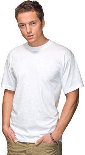 Stedman Herren T-Shirt Weiß Weiß - Weiß L