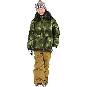 PONTAPES(ポンタペス) スノーボード ウェア キッズ 上下セット 全19色 100~150サイズ 耐水圧10,000mm サイズ調節可能 PONJR-107M PONJR-05(D-3020*M-570) 120サイズ スノーウェア スノボウェア スキーウェア ウエア 子供用 ジュニア 男の子用 女の子用 スノボーウェア 19-20 ジャケット パンツ 滑雪服