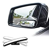 Blind Spot Mirror for Cars LIBERRWAY Car Side Mirror Blind Spot Auto Blind Spot Mirrors Wide Angle Mirror Convex Rear...