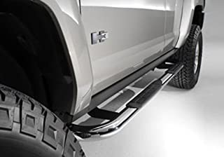 GM Accessories 19165156 Assist Step End Cap in Stainless Steel with Rivets General Motors