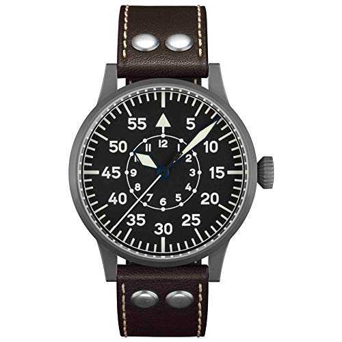 Fliegeruhr Original Dortmund von Laco – Made in Germany – 45 mm...