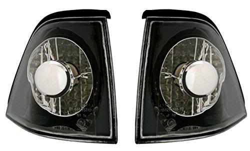 AD Tuning GmbH & Co. KG 960024 Lot de Clignotants Avant en Verre Transparent Noir