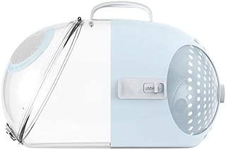 Pet Handbag Portable Pet Travel Bag Strong and Durable Breathable Multi-Color Optional Makfacp (Color : Blue)