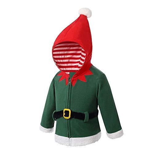 KEERADS GarÇons Filles tricotÉ Retro nouveautÉ noËl Tricot Veste épaisse Sweat à Capuche Anime Costume Cosplay Hoodie Sweatshirt Manteau Tops