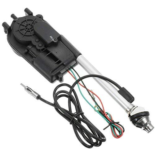 DULALA Antennen Auto vollautomatische Antenne elektrische Antenne Fitting Kit FM AM Radio für Auto Ersatz Wing Mount