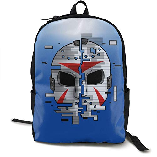 hengshiqi Rucksack Schultasche,Backpack, H20-mask-Delirious Unisex Adults Kids Schoolbags Zipper Teen Girl Boys Bookbags Book Bags Backpack Daypack for Office Traval