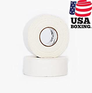 STING Professional White Athletic Tape - Perfect for Boxing, Kickboxing, MMA and Muay Thai - 25 M (48 Rolls)