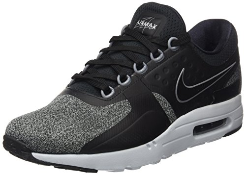 Nike Nike Herren Air Max Zero Essential Sneaker, Schwarz (Black/Black-Anthracite-cool Grey-Pure Platinum), 46 EU