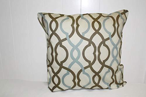 Ol322ay Waverly decoratieve gooi kussen maken golven latte stof kussensloop gooien kussen