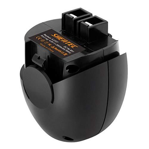 Shentec 4.8V 3.5Ah Ni-MH Ersatzbatterie Akku für Metabo 6.27270 6.27271 6.27273 6.00063.50 6.02410.50 6.00064.50 6.27000.00 6.31858 60005952 PowerGrip 2 Powergrip 2