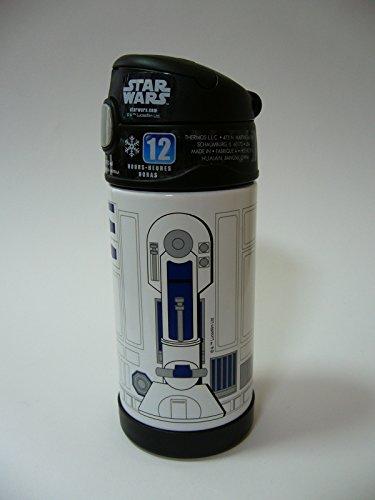 『THERMOS サーモス Star Wars スターウォーズ R2D2 R2-D2 ストローボトル 真空断熱 水筒 355ml』の5枚目の画像