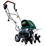 Scotts Outdoor Power Tools TC70135S 13.5-Amp 16-Inch Corded Tiller/Cultivator, 11' Wide and 8' deep, Green