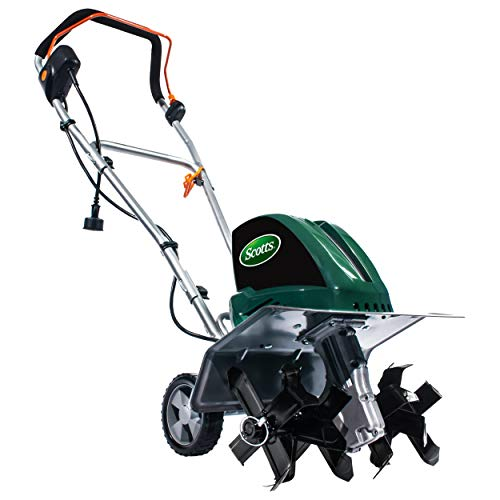 "Scotts Outdoor Power Tools TC70135S 13.5-Amp 16-Inch Corded Tiller/Cultivator, 11"" Wide and 8"" deep, Green"