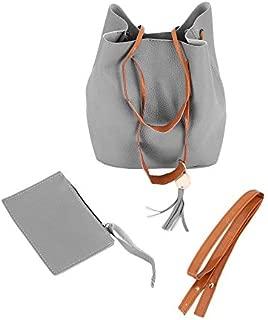 MIGG Women Bags Purse Shoulder Handbag Tote Messenger Satchel Bag Cross Body(Grey)
