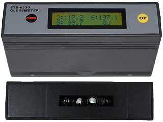 ETB-0833 Self-Calibration 20˚ 60˚ 85˚ Glossmeter Gloss Meter Tester 0-200Gu