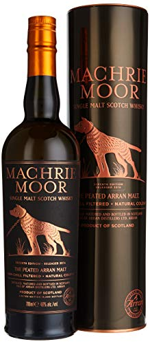 The Arran Machrie Moor The Peated Batch No. 4 mit Geschenkverpackung Whisky (1 x 0.7 l)