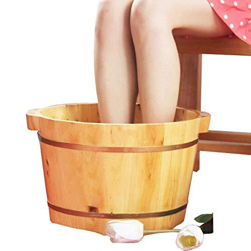 YIHANGG Saune Bacino per Pedicure Piede di Abete 17cm Fondo Piatto Ciotola Unilaterale Salute Bolla Piede Secchio Piede Regalo Pub Regalo di Assistenza Sanitaria di Mezza età E Anziani