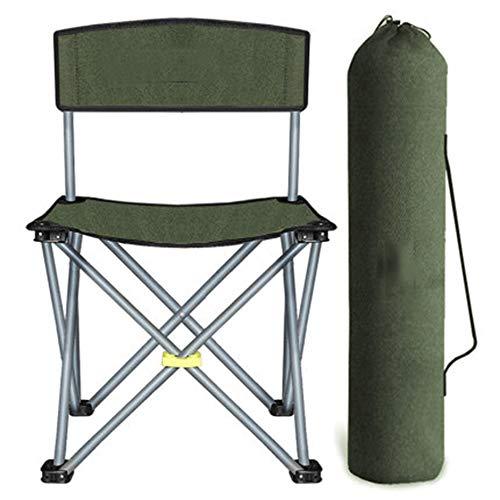 C/H Sillas de campamento, silla de viaje, silla de viaje, taburete plegable para acampar, ultraligero y silla de camping, fácilmente portátil, plegable y compacto para viajes en movimiento