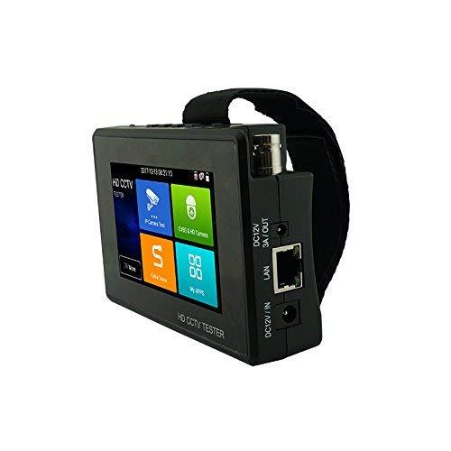 Wanglu el más Nuevo 4 Pulgadas muñeca CCTV HD cámara probador H.265 4K IP 8MP TVI 8MP CVI 8MP AHD analógico 5-en-1 CCTV Tester Monitor