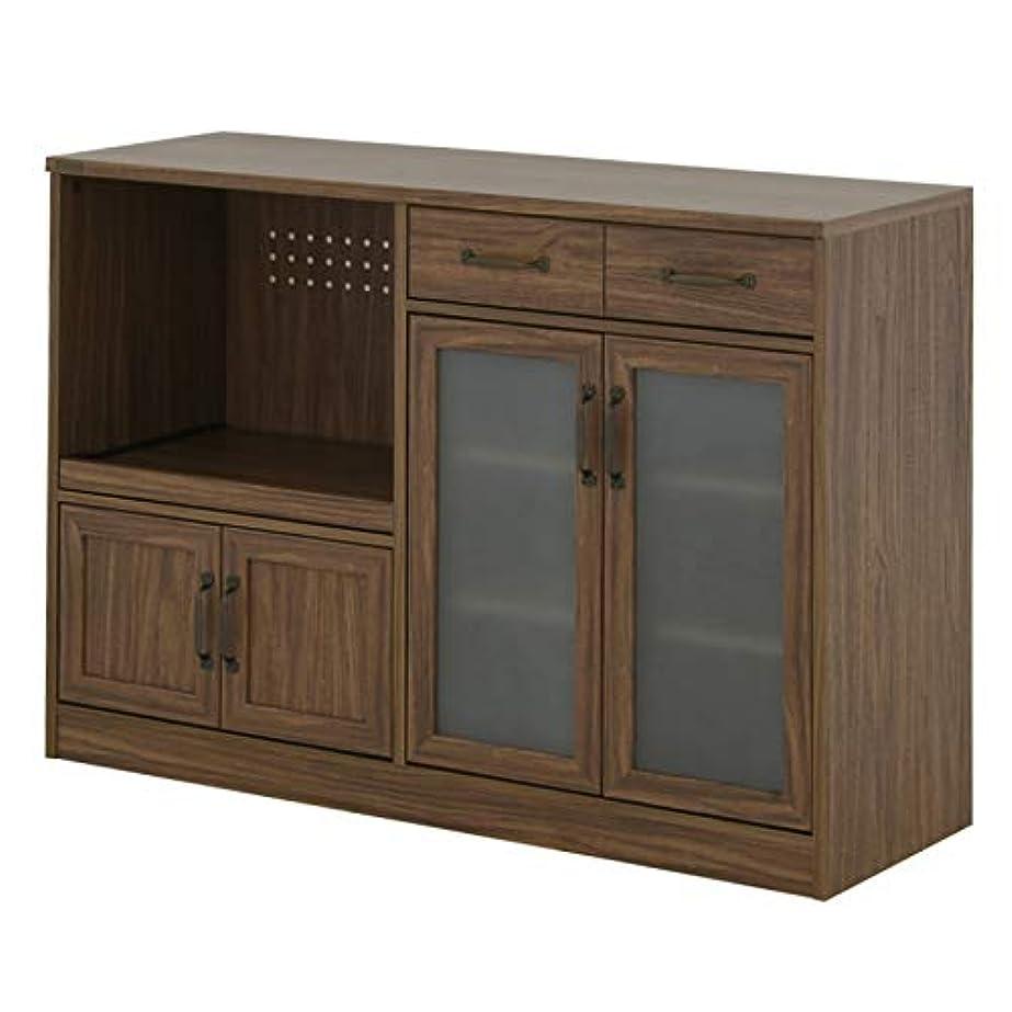 飾るつまずく櫛レンジ台 白 ワイド カウンタータイプ レンジボード キッチンカウンター 幅118cm シンプル かわいい おしゃれ ナチュラル <LUFFY/LU80-120L>