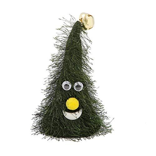 Bonnet Noel Chapeau de Père Noël Adultes Taille Ornements de Noël Chapeau de Noel Rouge Vert Noël musique balançoire partie chapeau électrique arbre créatif décoration fournitures
