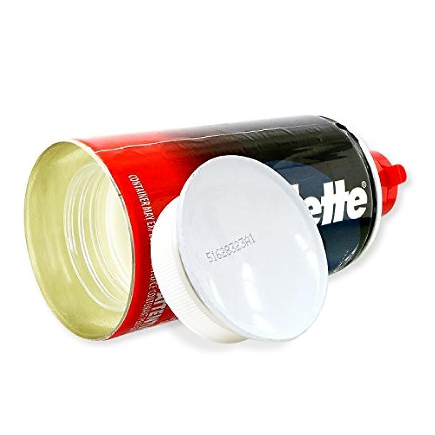 連続的見通し経験的隠し金庫 シェービングクリーム型 収納 セーフティボックス 『SECRET SAFE シークレットセーフ』(OA-666) Gillette Shaving Cream アメリカン雑貨 米国直輸入 貴重品の保管 タンス貯金 へそくり 防犯 スパイグッズ