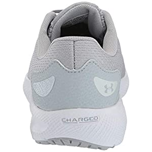 Under Armour Men's Charged Pursuit 2 Running Shoe, Mod Gray (102)/White, 7.5 M US