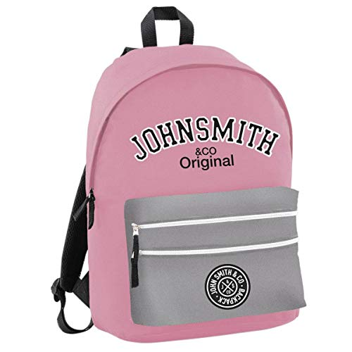 John Smith M20202 Mochila, Unisex Adulto, Rosa, Talla Única
