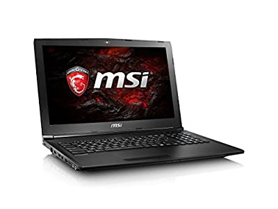 "2017 MSI GL72 7RD-028 17.3"" Performance Gaming Laptop Core i7-7700HQ GTX 1050 16GB 128GB SSD + 1TB"
