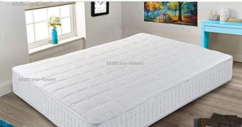 Mattress Haven Pocket Sprung Memory Foam Mattress - 2000 Springs - Medium/Firm 4FT6 - Double