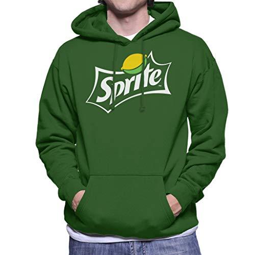 Sprite Lemon Logo Men's Hooded Sweatshirt
