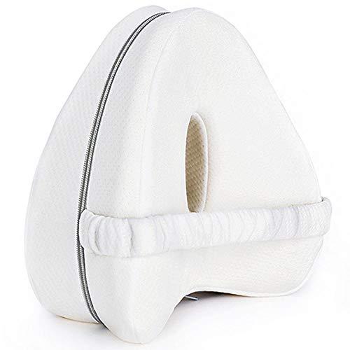 Kniekissen für Seitenschläfer,Kniekissen Ergonomisches Seitenschläferkissen mit optimalem Memory Foam-Knie Kissen für Seitenschläfer Positionierungskissen mit abnehmbarem und waschbarem Bezug