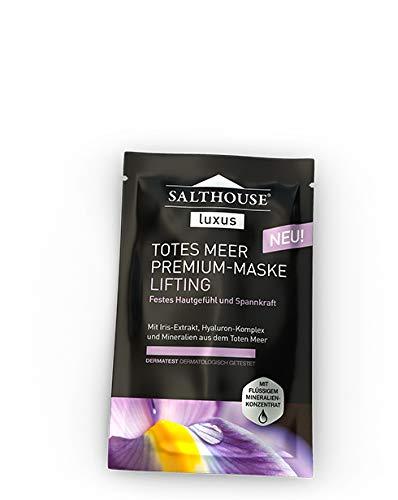 Salthouse Luxus Totes Meer Premium LIFTING -MASKE - 10 Einheiten mit je 2 x 5ml (für 20 Anwendungen)