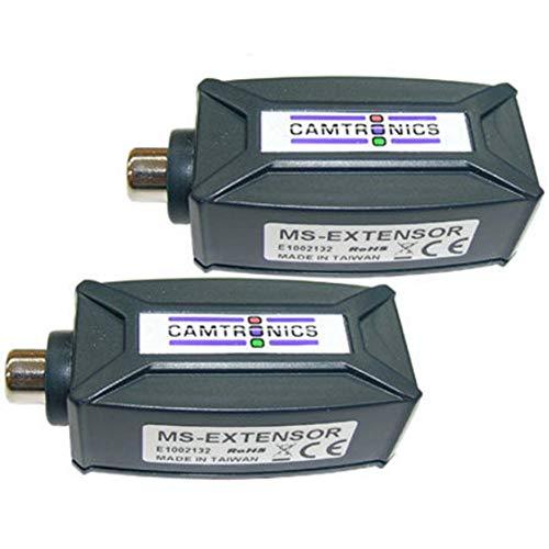 Camtronics MS Extensor, Extensor de señal de Audio Cable UTP hasta 1.5 km
