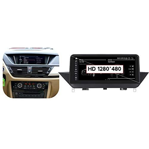 TypeBuilt Autoestereo Radio USB Coche Pantalla Táctil Capacitiva para BMW X1 E84 2009-2015 Autorradio GPS Navegación Cámara De Respaldo Estéreo De Coche Audio Video Player SWC