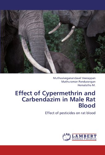 Effect of Cypermethrin and Carbendazim in Male Rat Blood: Effect of pesticides on rat blood