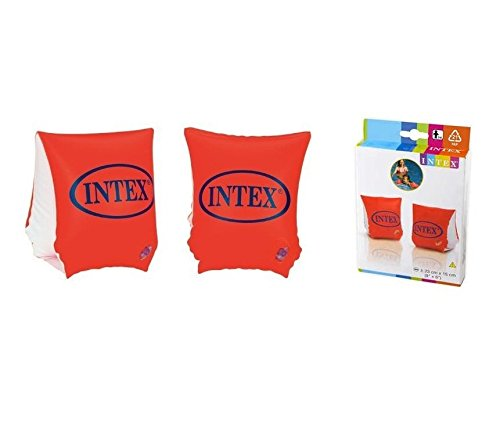 Brassard Bracelet Intex Enfant - 23x15 cm - Piscine - Orange - 424