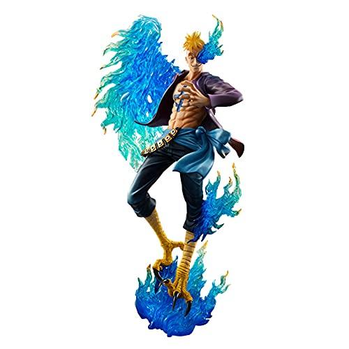 ioth Marco Action Figuras One Piece Pasado Postura Modelado Anime Hero Carácter Modelo Muñeco de Juguete Colección Decoración Regalo de Cumpleaños 28 cm